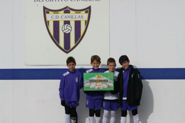 Apoyamos a los chicos del Equipo Deportivo @CDCanillas