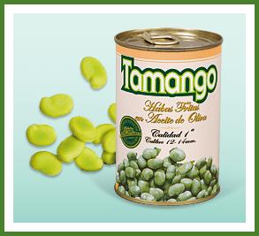 Broad Beans Habas Fritas Tamango Beans MATA