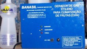 Generador de etileno para el tratamiento de frutas
