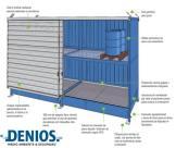 Explicación con esquema del Basic Store para el almacenamiento de sustancias químicas