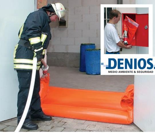 Barreras de seguridad para evitar fugas de sustancias peligrosas
