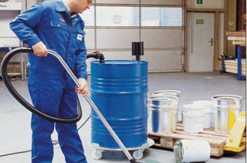 Aspirador de líquidos químicos