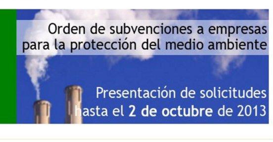 Subvención medioambiental en industria del País Vasco