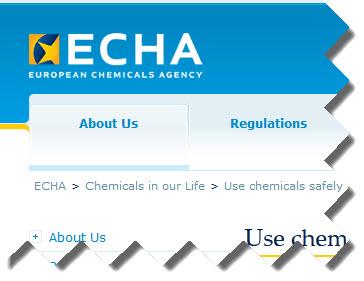 Agencia Europea sobre productos químicos