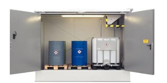 Almacenes integrados para residuos