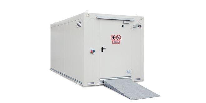 Centros de reciclaje con almacenes resistentes al fuego