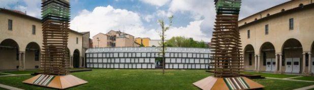 Esctructura de cubetos de DENIOS en el Museo Diocesiano de Milán