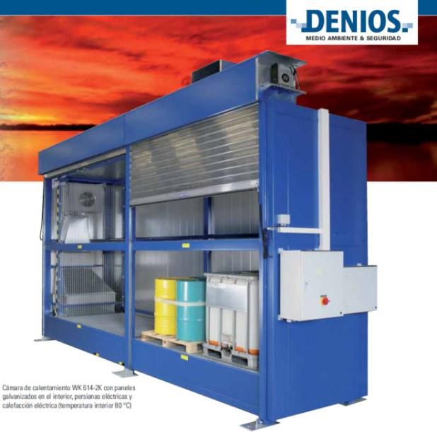 Cámaras térmicas para productos químicos de máxima eficacia