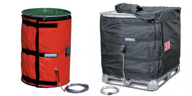 Usos de manta calefactora y calentador de bidones