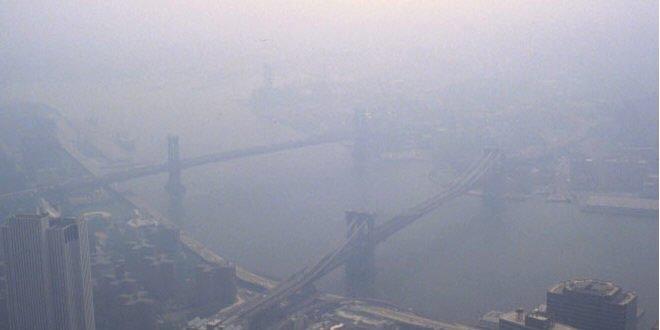 La contaminación atmosférica es un peligro mortal