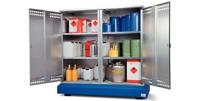 Los materiales peligrosos se han de almacenar correctamente