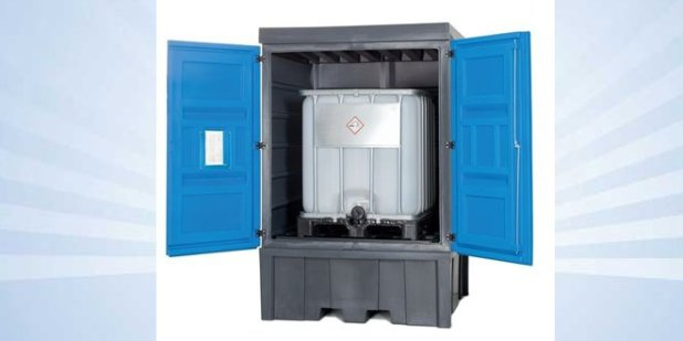 Pequeño contenedor para un GRG de sustancia peligrosa