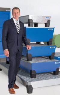 Helmut Denig: creador del cubeto de retención y fundador de DENIOS