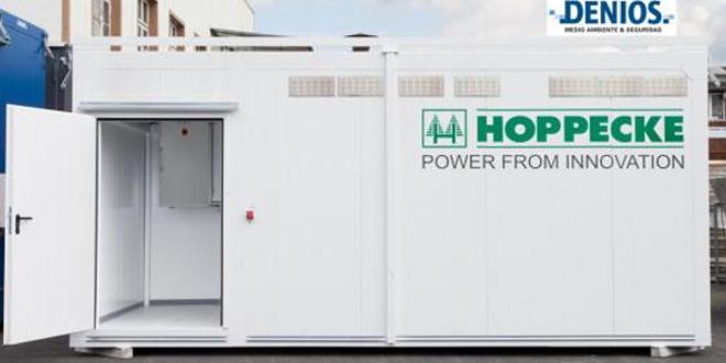 Sala técnica de almacenamiento para baterías y fuentes de alimentación