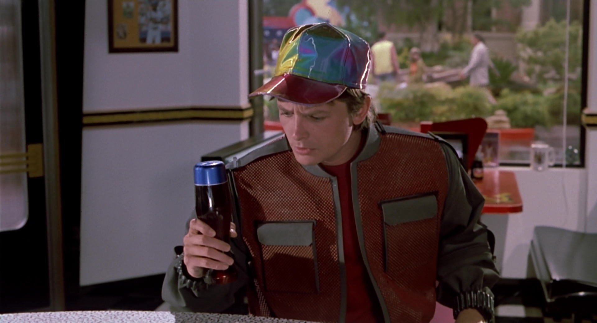 Pepsi Bottles In Back To The Future Part 2 1989 Movie