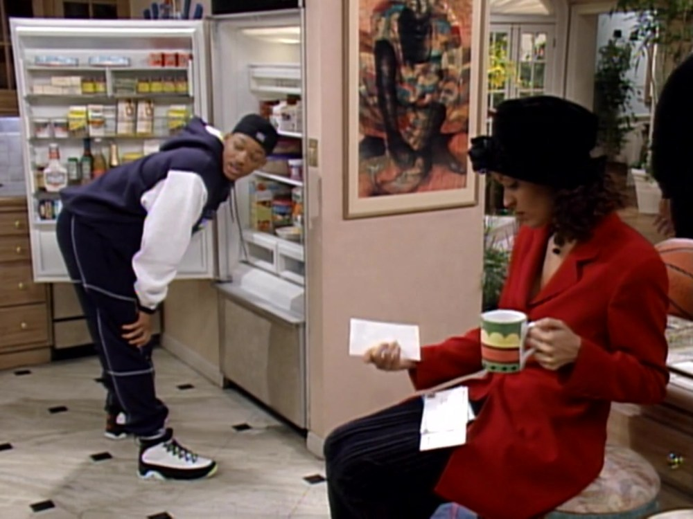 "Air Jordan Sneakers Worn By Will Smith In The Fresh Prince Of Bel-Air S04E14 ""Sleepless In Bel-Air"" (1994)"