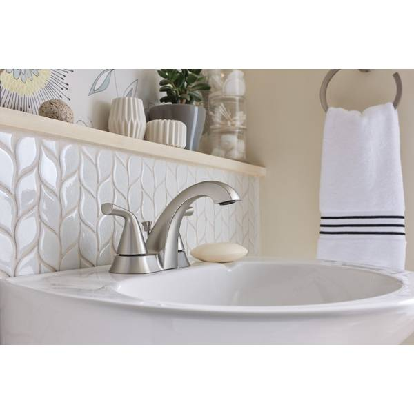 nickel haber two handle faucet