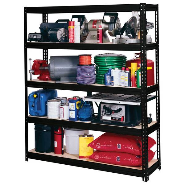 muscle rack ultra rack extra heavy duty boltless storage shelving