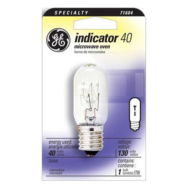 40 watt t8 microwave oven indicator light bulb