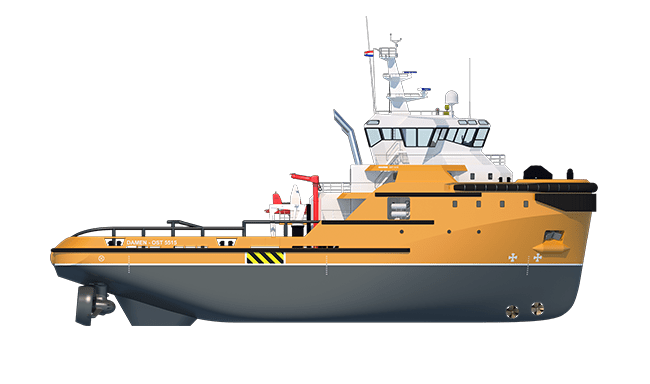 Compact and powerful Damen Tugboat