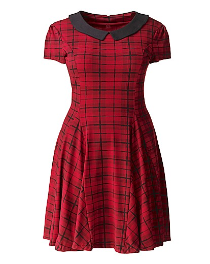 Red skater dress from Simply Be £40