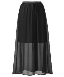 Grazia Maxi Skirt half lined