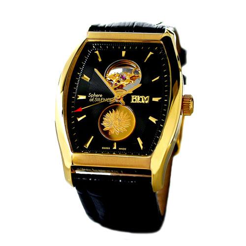 Sphere of Silence Tonneau Gent Gold Watch