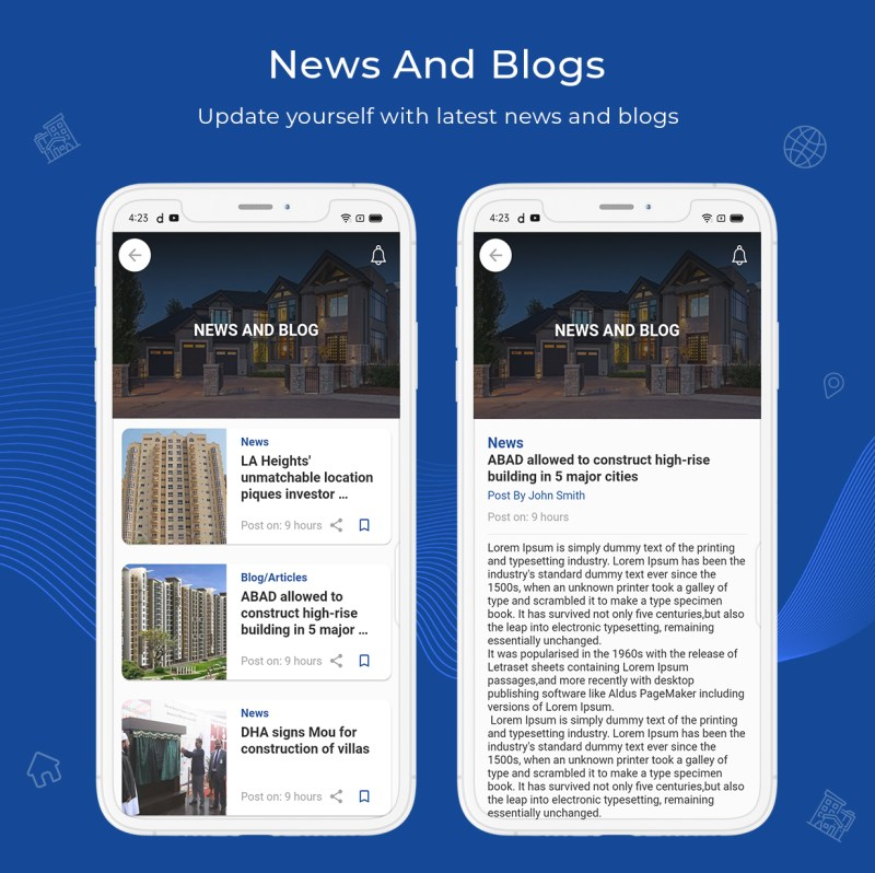 onProperty - Real Estate App Template for Flutter (Android and IOS) - 8