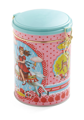 Contain Your Excitement Coffee Canister