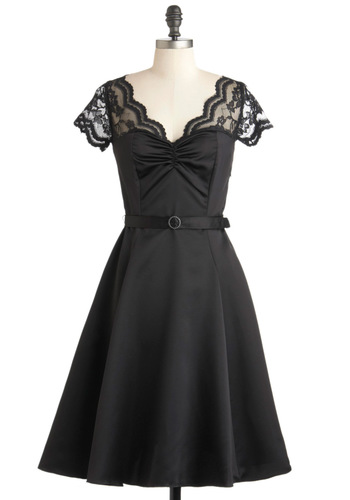 Black Tie Optimal Dress