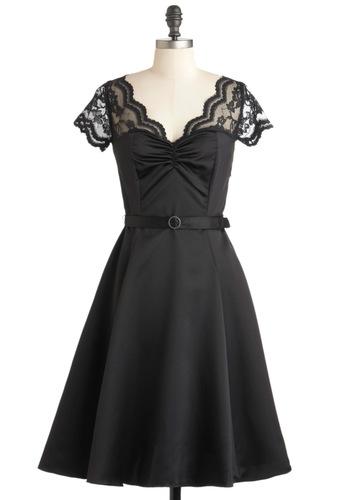 Black Tie Optimal Dress