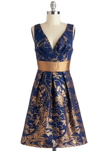 Gilded Paradise Dress