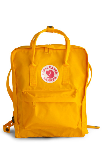 Wherever You Wander Backpack in Sunshine from ModCloth