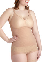 Plus size shapewear cami from ModCloth