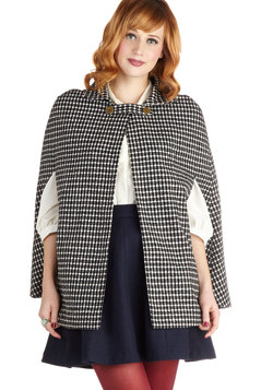 plethora of poise cape (modcloth)