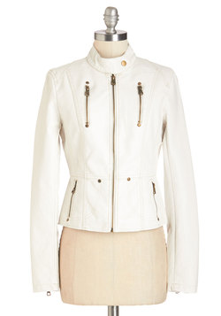 Visibility Oak Jacket in White