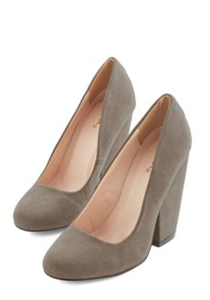 Fit for a Fashionista Heel in Taupe