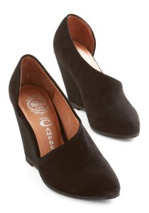 Jeffrey Campbell Smart and to the Point Wedge