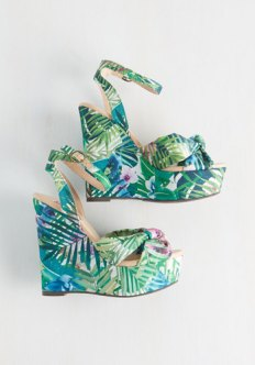 Tropical of My Love Wedge