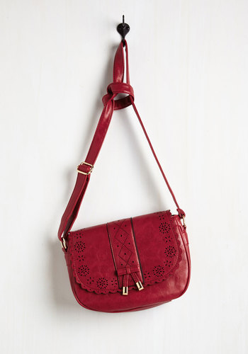 Cheer I Come! Bag - Red, Solid, Cutout, Work, Casual, Daytime Party, Boho, Good