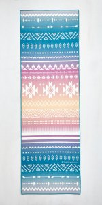 Just Pose to Show Yoga Towel in Southwestern