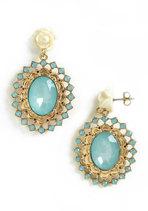 Vintage Wedding Style - Reflecting Pool Earrings