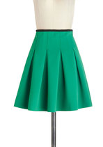 Skirts - Working Order Skirt in Green