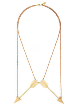 glows and arrows necklace (modcloth)