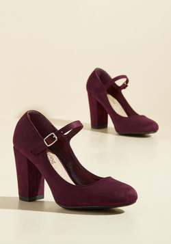 Shoes - Dynamic Dinner Date Mary Jane Heel