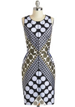 New Arrivals - Stunning in Circles Dress