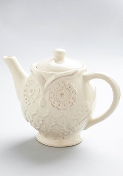 Perched High and Low Teapot