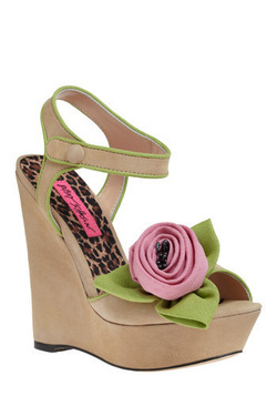 Betsey Johnson Love Embodied Wedge