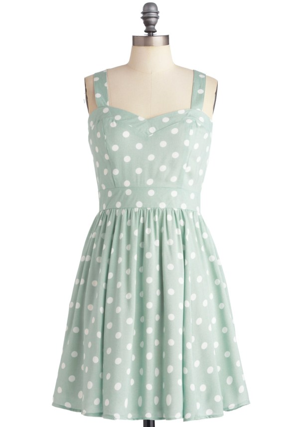 Pretty Things - Modcloth Mink Pink Milkshake Dress