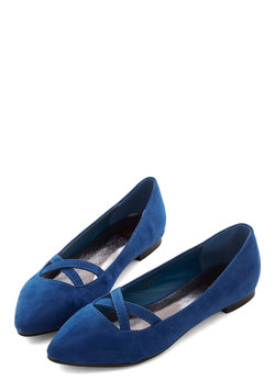 style pointers flat in cobalt (modcloth)